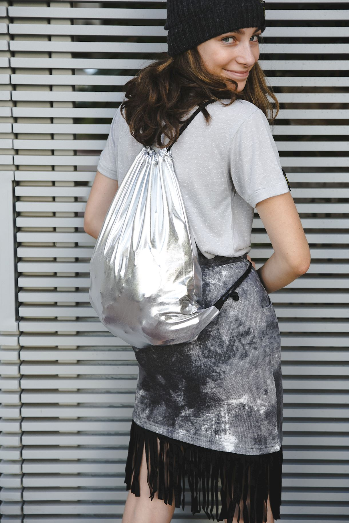 Silver Yumster Backpack
