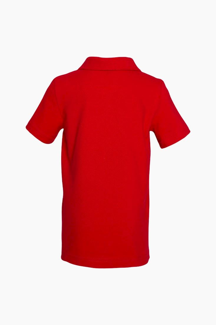 Polo Red Short Sleeve