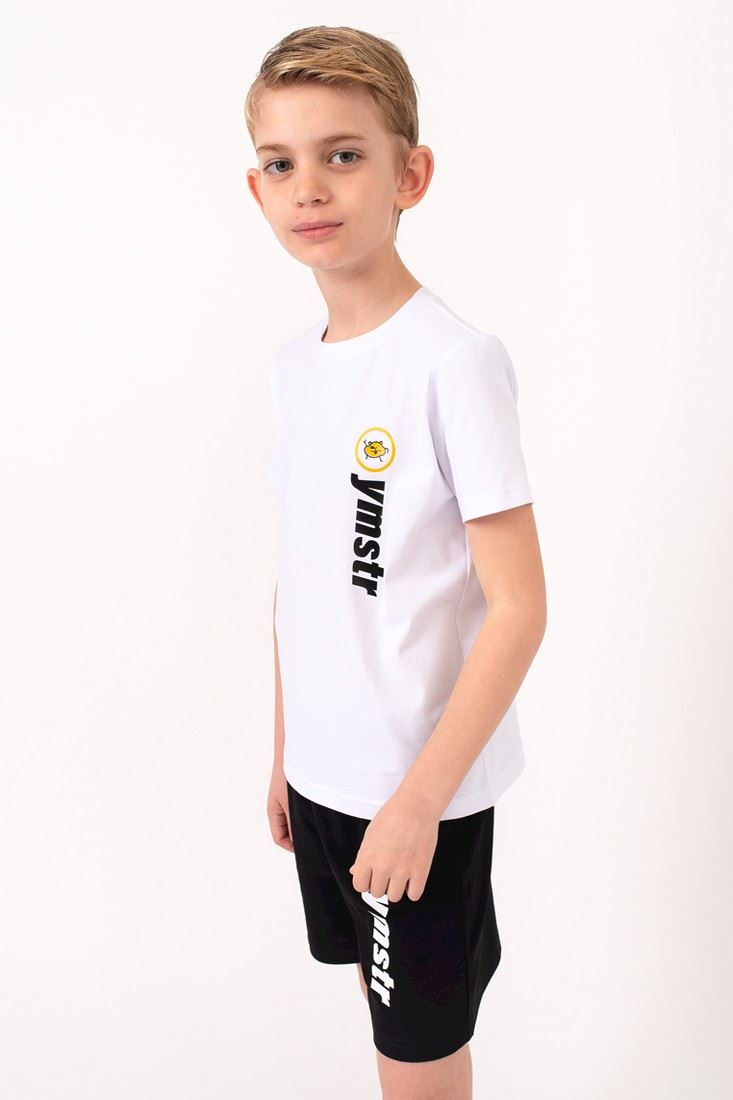 T-shirt white with Yumster print