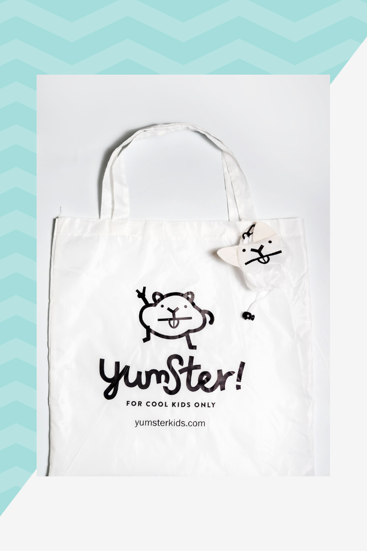 Foldable roomy bag from Yumster